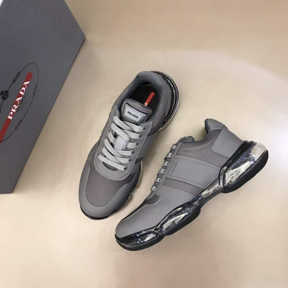 Кроссовки Air Technical Fabric Sneakers Grey