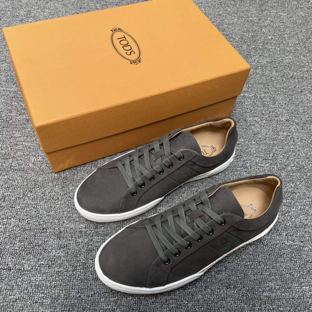 Кроссовки SNEAKERS IN LEATHER GREY