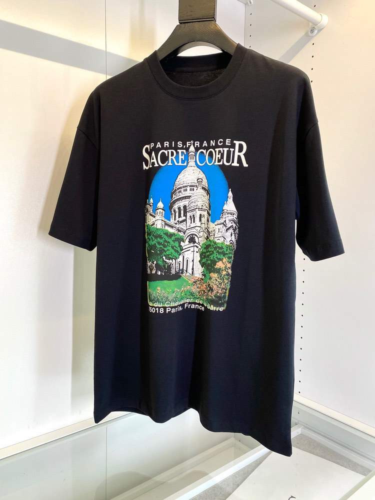Футболка SACRE COEUR T-SHIRT Black