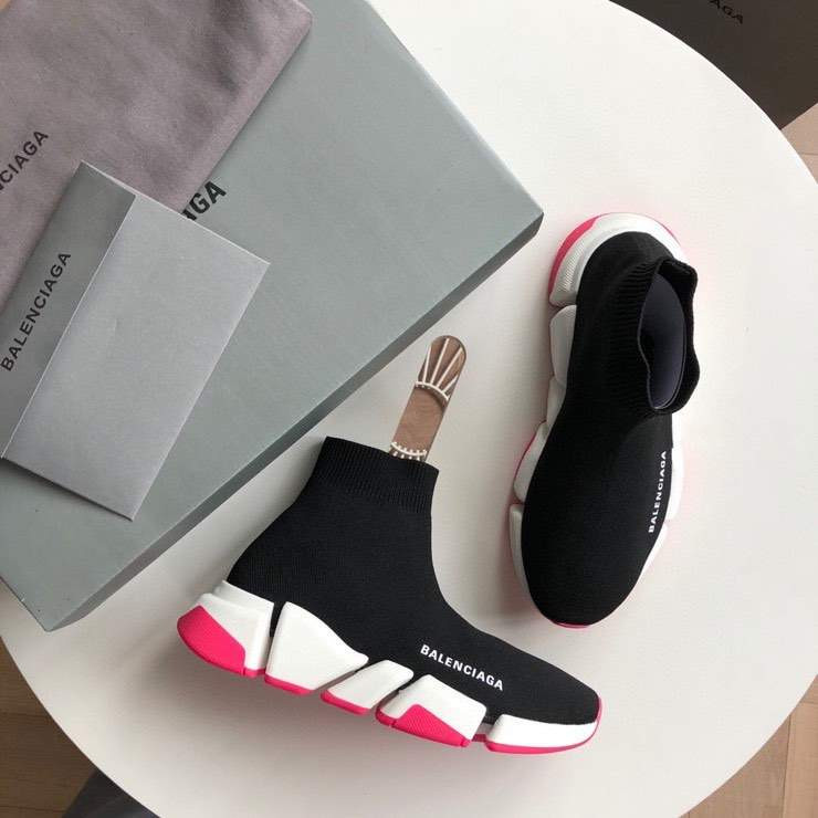 Кроссовки SPEED 2.0 SNEAKER BLACK AND PINK