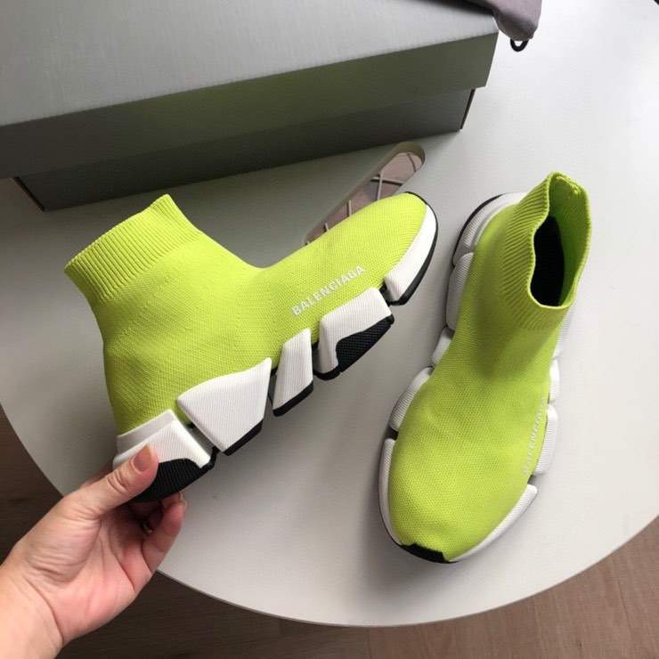 Кроссовки SPEED 2.0 SNEAKER GREEN AND WHITE