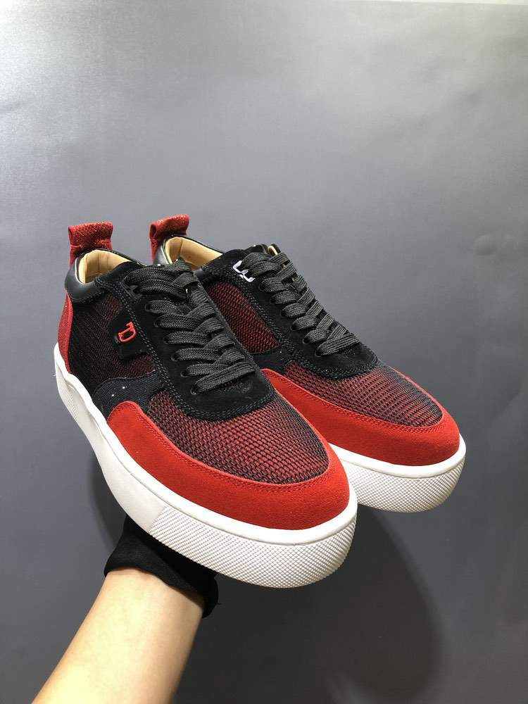 Кроссовки Happyrui Spikes Flat Black And Red