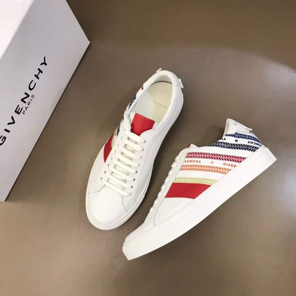 Кроссовки CHAIN SNEAKERS White And Red