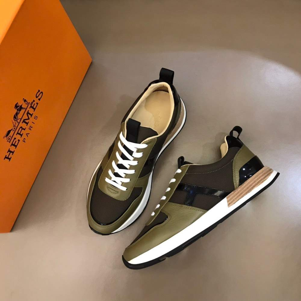 Кроссовки Avantage sneaker Brown And Green