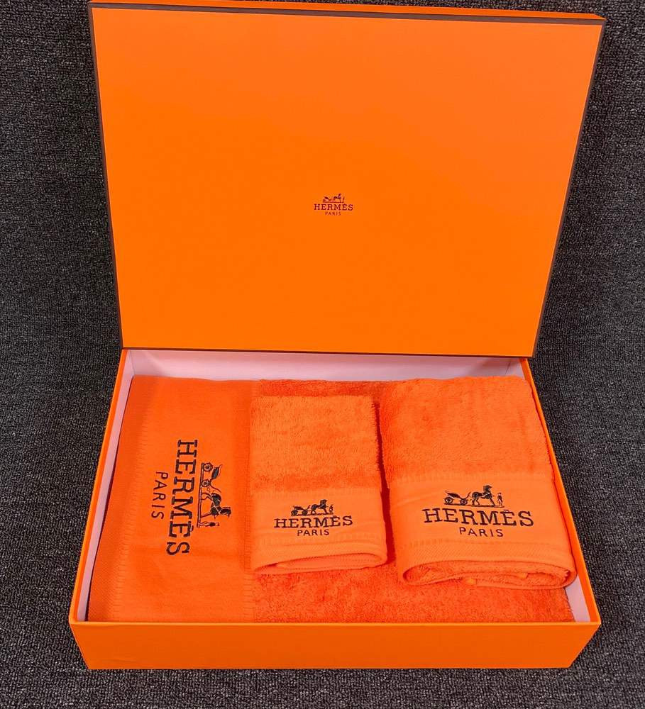 Towel Set Orange