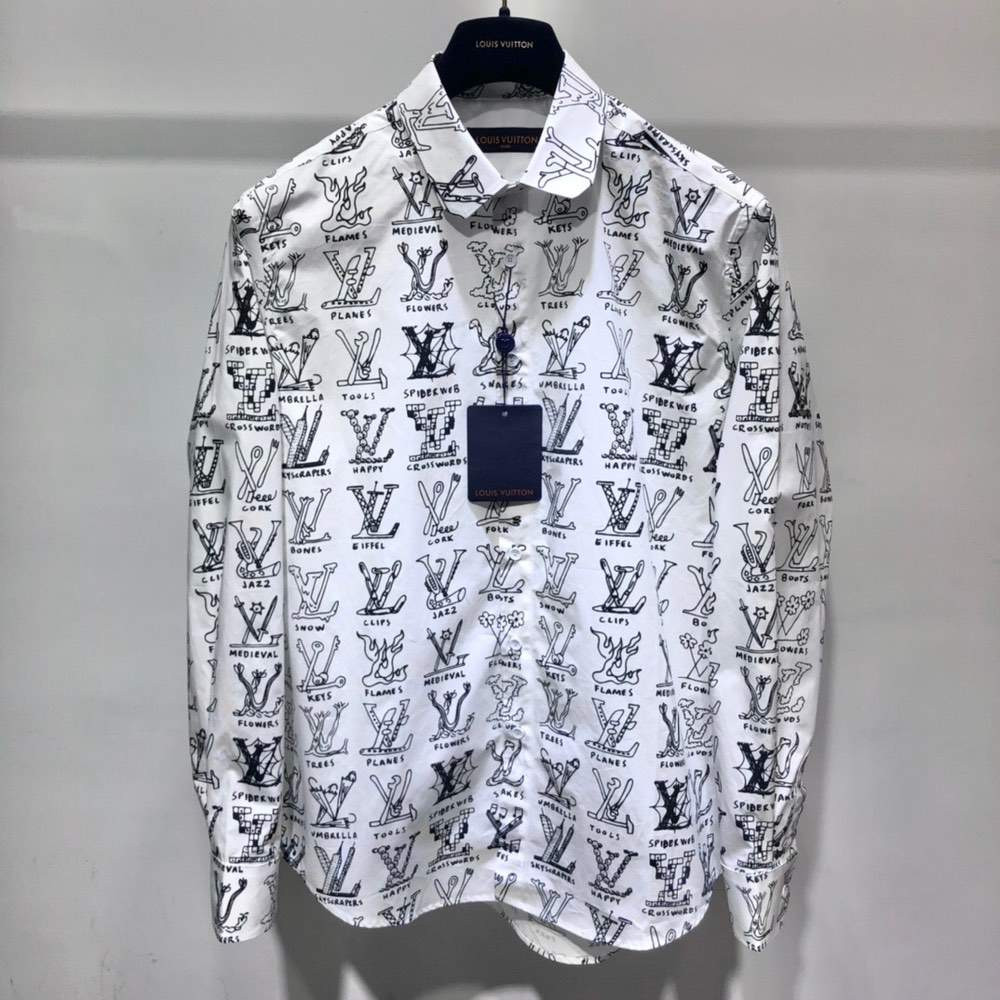 Рубашка PLACED GRAPHIC SHIRT