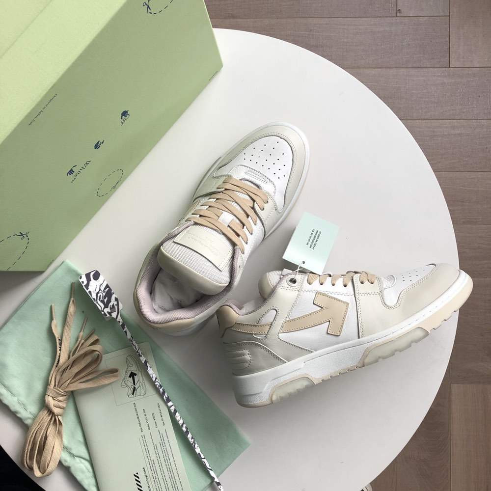Кроссовки Out of office sneakers White And Beige