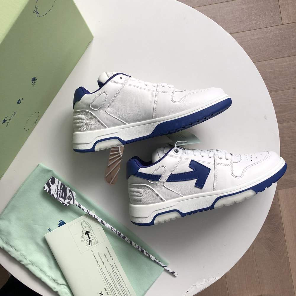 Кроссовки Out of office sneakers White And Blue