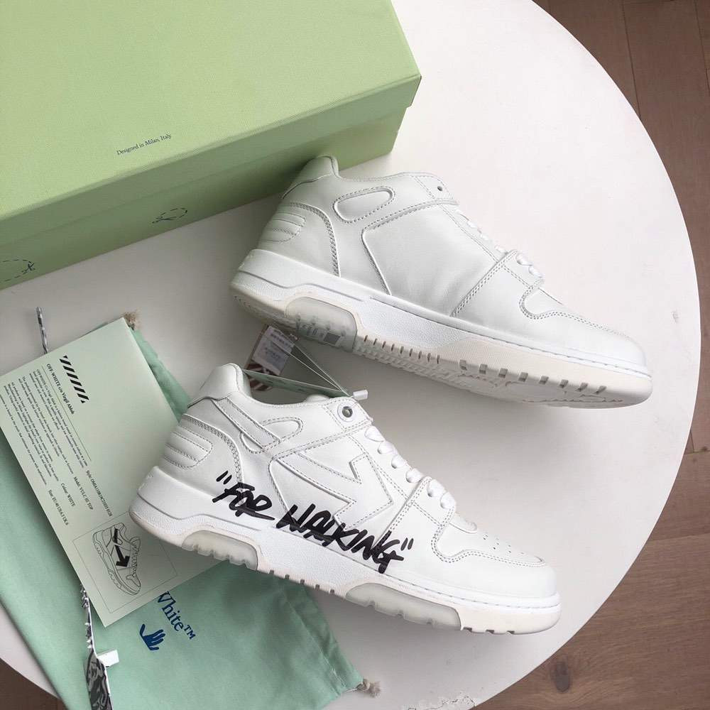 Кроссовки Out of office sneakers White For