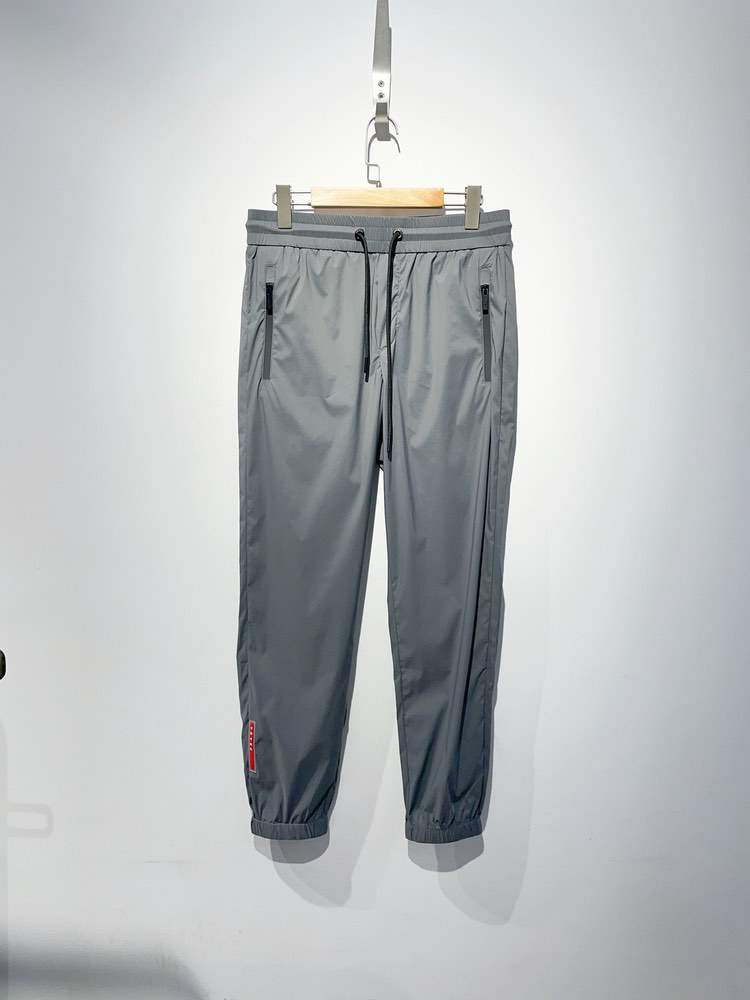 Cпортивные штаны Recycled Double Technical Jersey joggers Grey