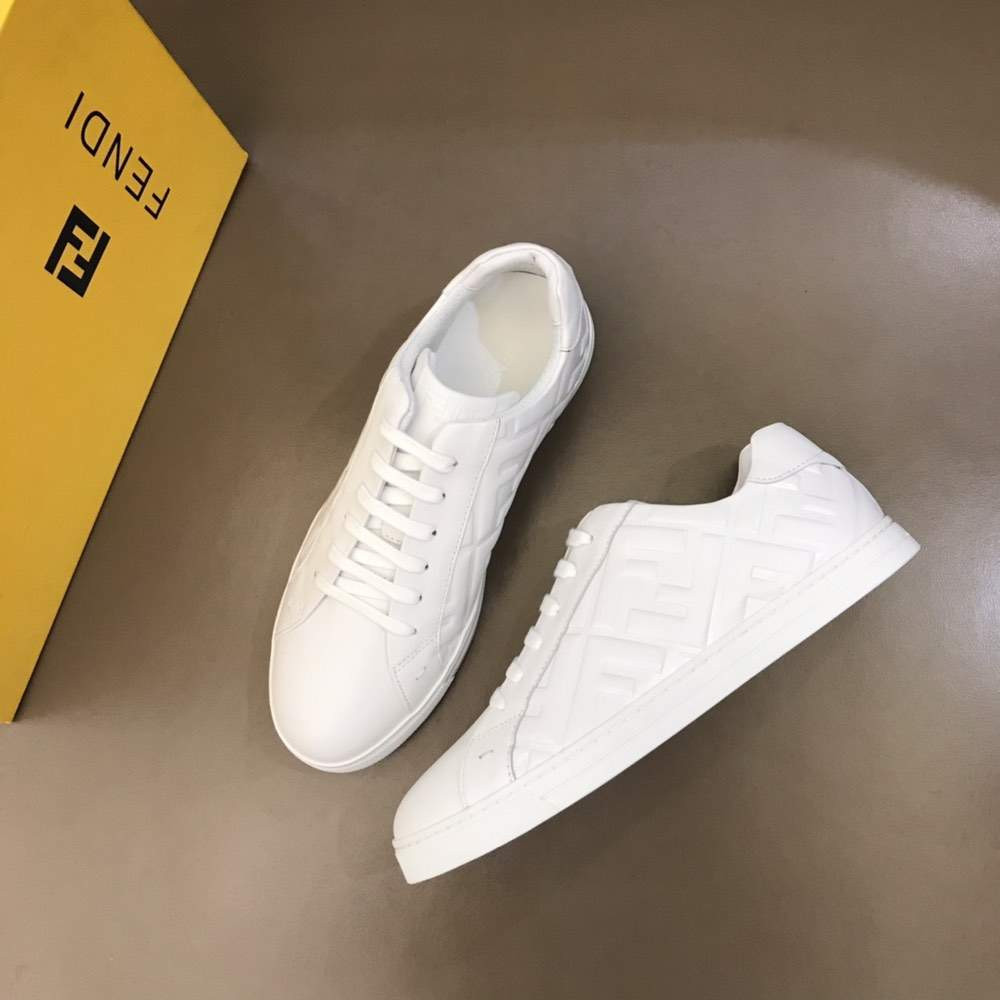 Кроссовки Leather low-tops Form White