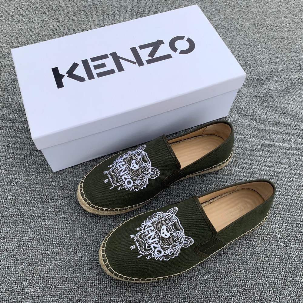 Эспадрильи Tiger elasticated espadrilles Green