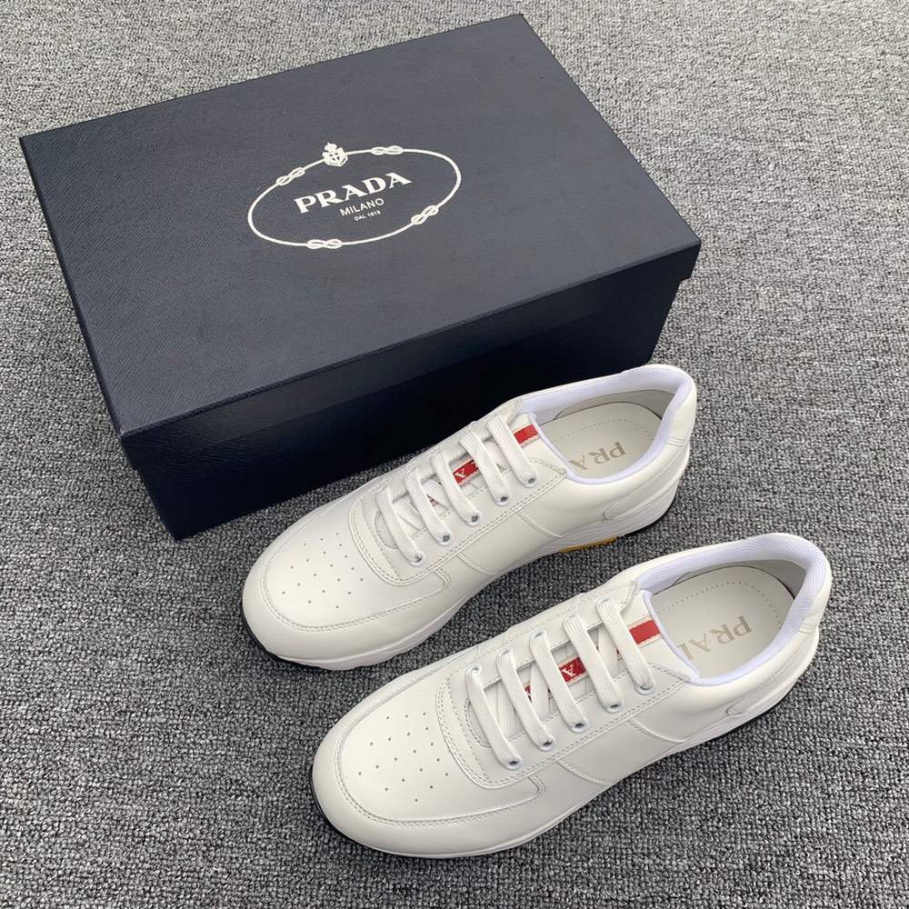 Кроссовки PRAX 01 laced sneakers White