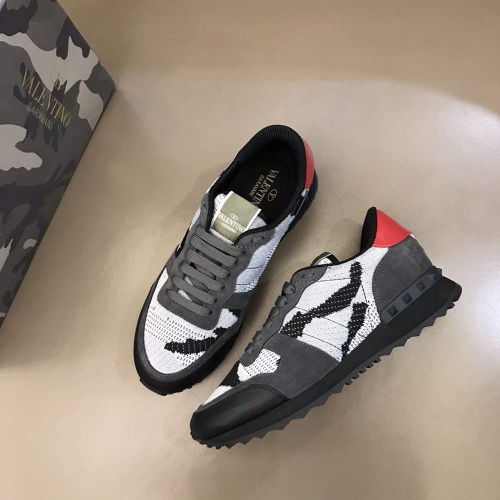 Кроссовки ROCKRUNNER SNEAKER BLACK AND WHITE