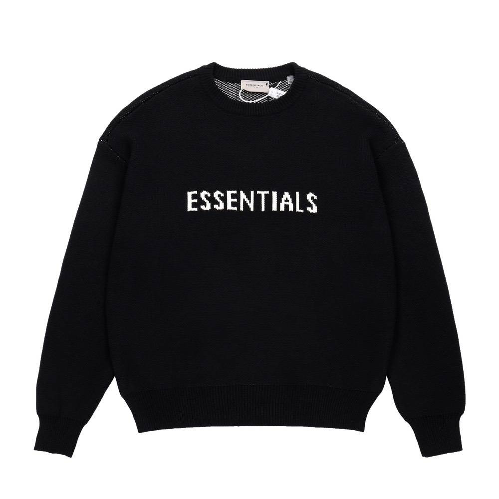 Свитер ESSENTIALS KNITWEAR BLACK