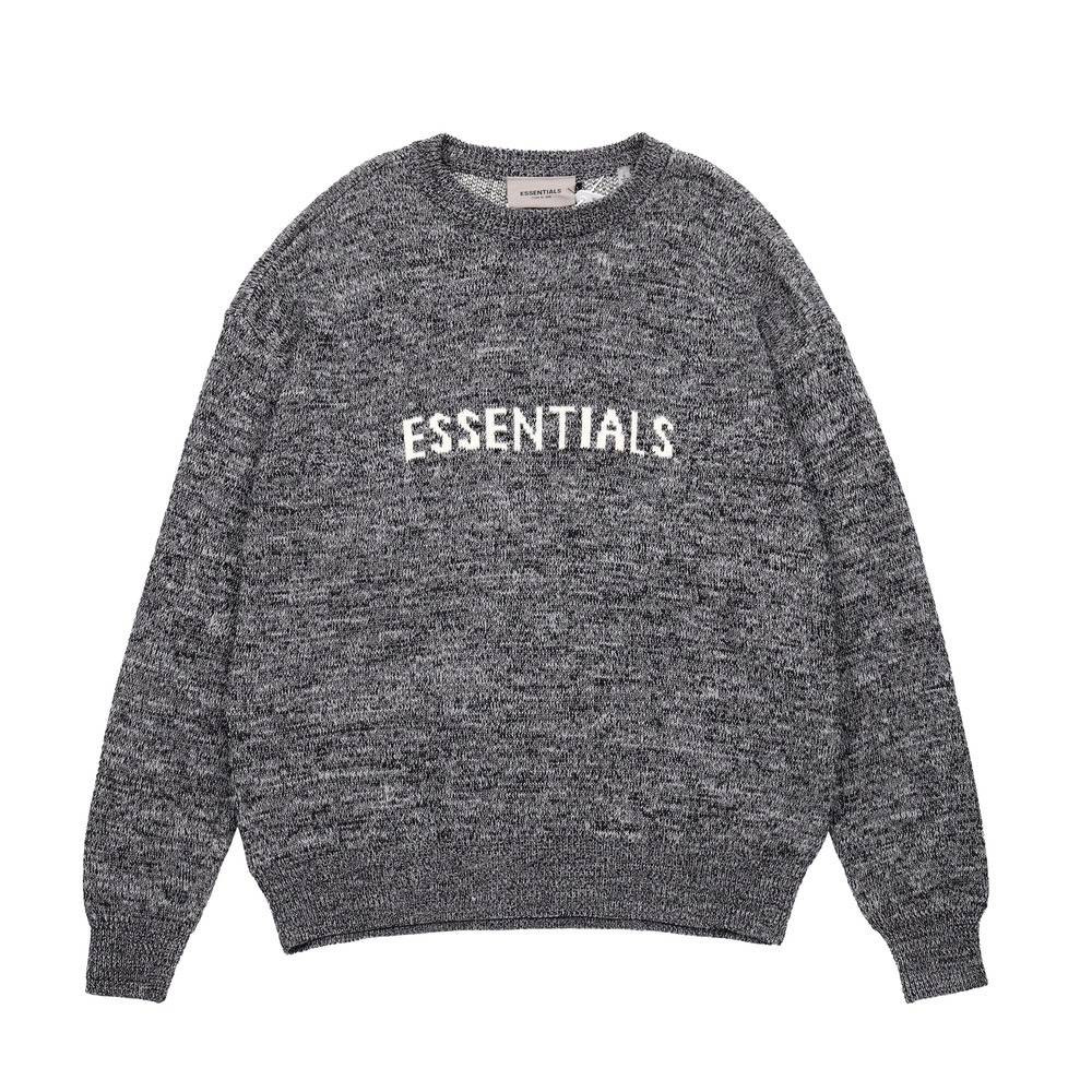 Свитер ESSENTIALS KNITWEAR GRAY
