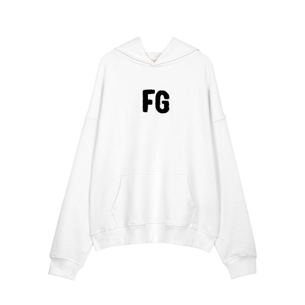 Худи TWO LETTER HOODIE WHITE