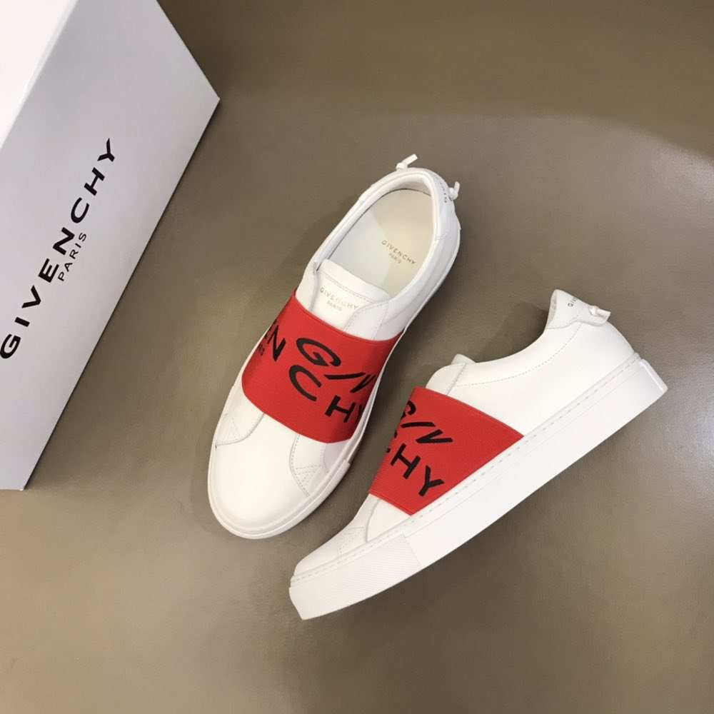 Кроссовки Urban Street Low-top Sneakers White N Red