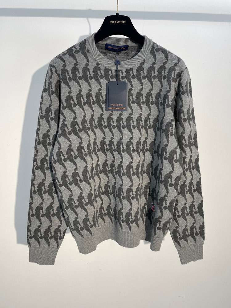 Свитер LVXNBA PLAYER JACQUARD SWEATSHIRT