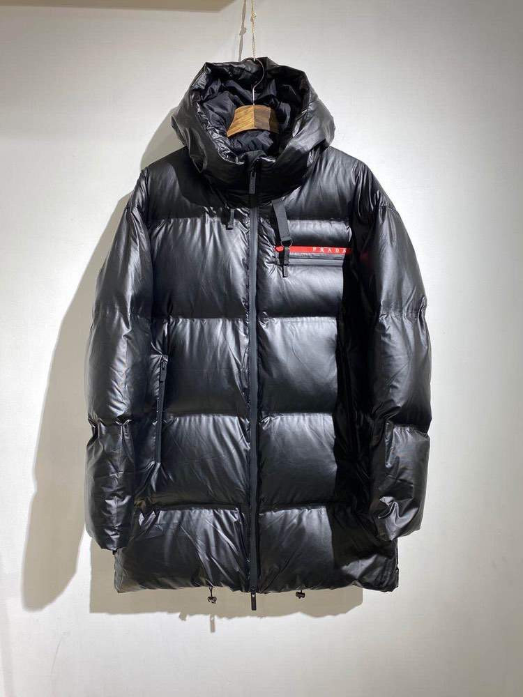 Пуховик Light Nylon midi puffer coat