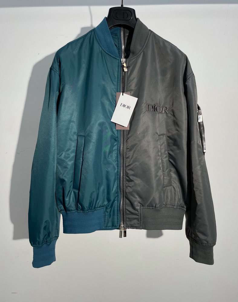 Ветровка JUDY BLAME BOMBER JACKET Black N Green