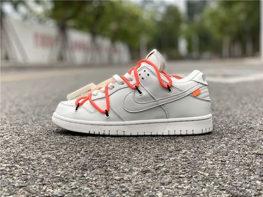 Кроссовки x Off-White Dunk Low White