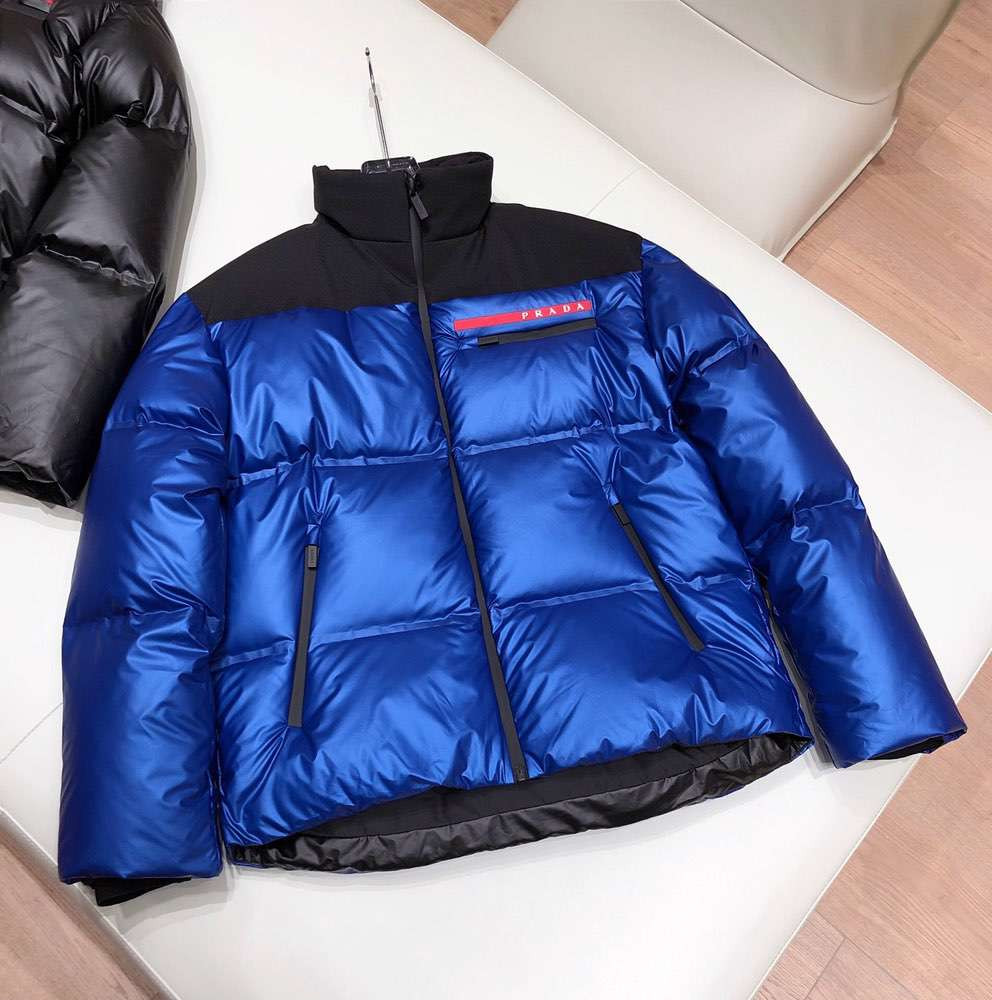 Пуховик Light Bonded Nylon Puffer Jacket Blue