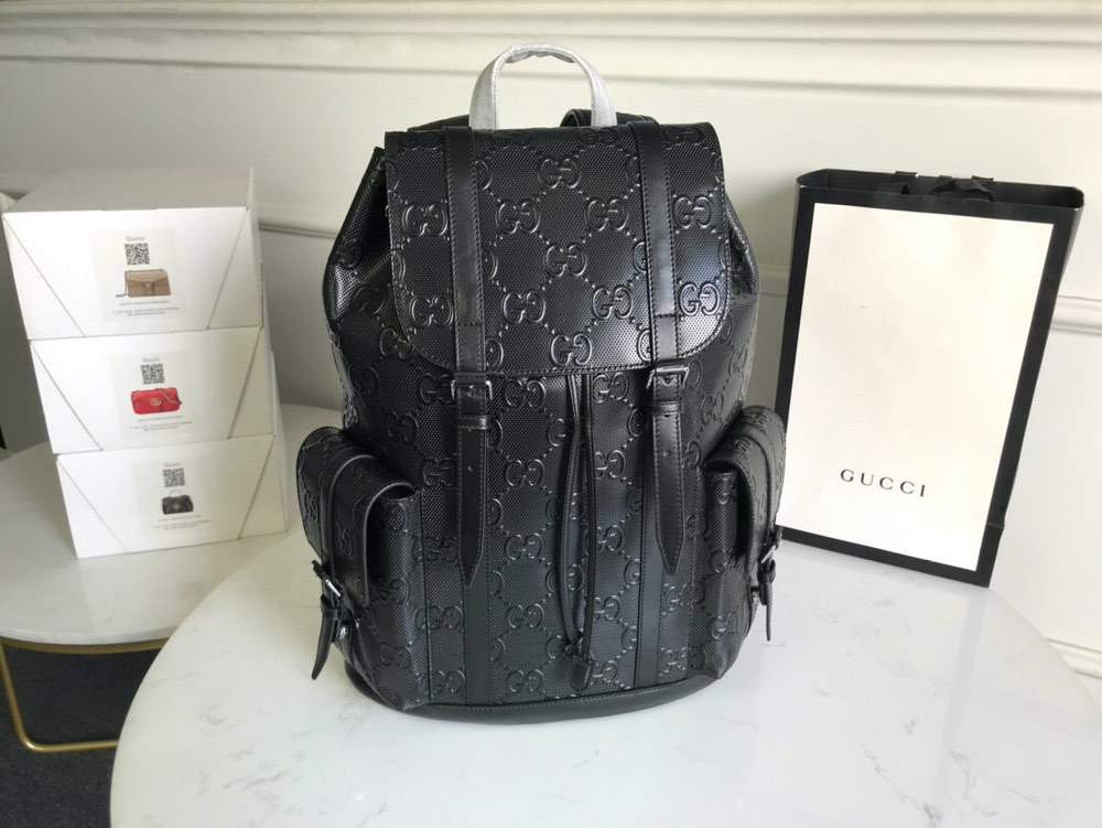 Рюкзак GG Embossed Backpack