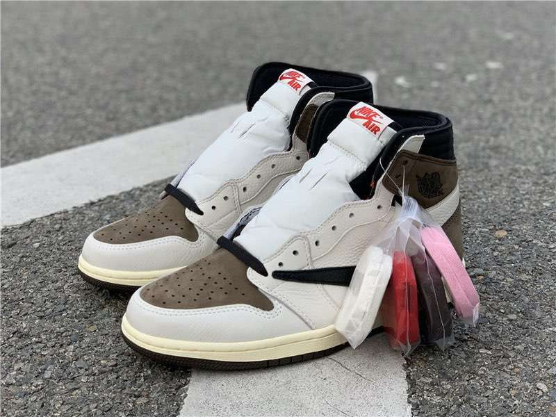 Кроссовки Air Jordan 1 High OG Travis Scott