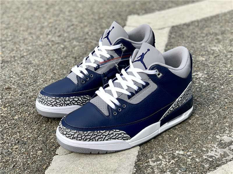 Кроссовки Air Jordan 3 Midnight Navy