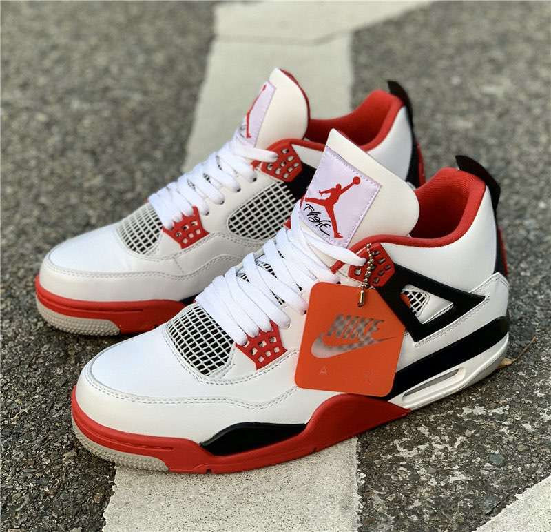 Кроссовки Air Jordan 4 OG Fire Red