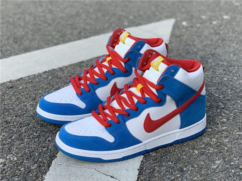Кроссовки SB Dunk High Doraemon