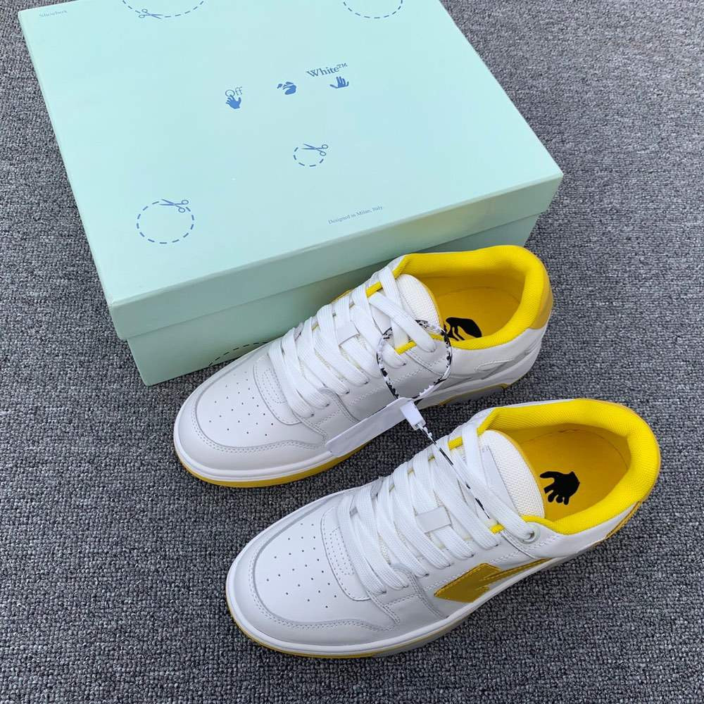 Кроссовки OUT OF OFFICE SNEAKERS Yellow