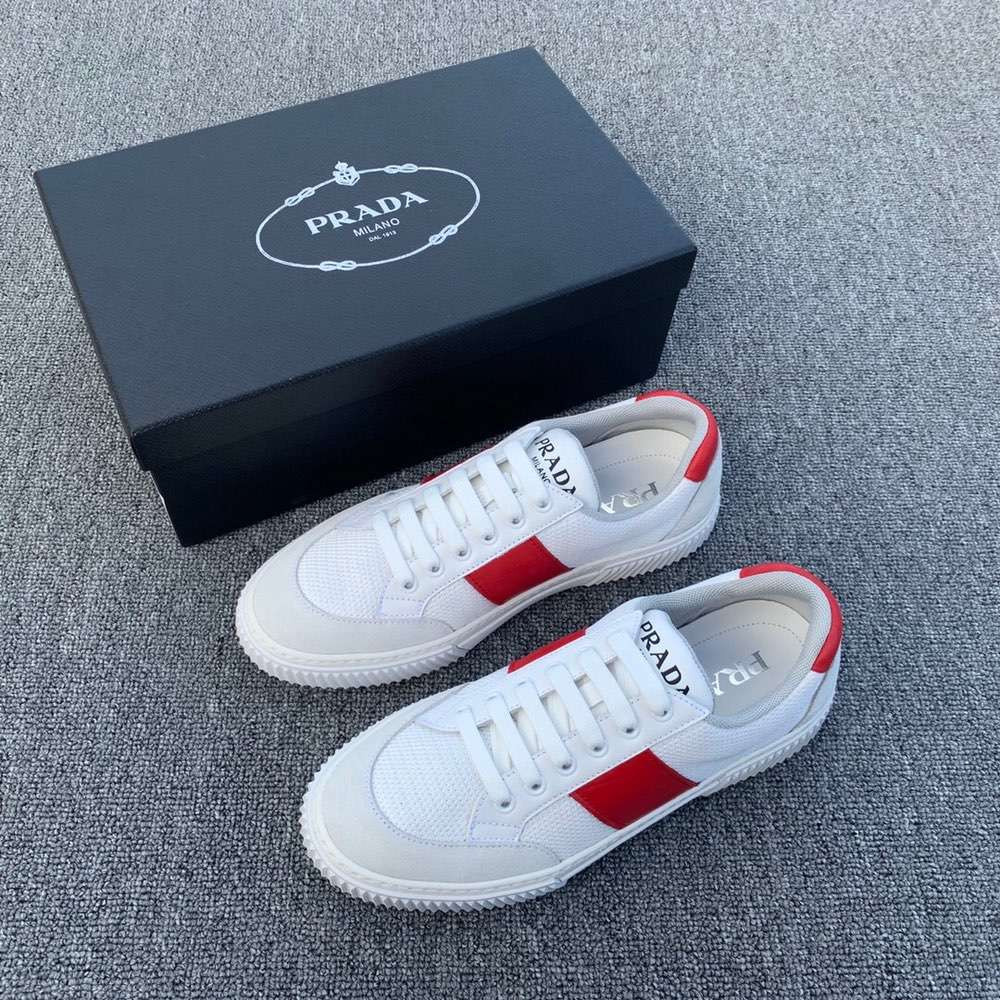 Кроссовки Tun Sneakers White Red