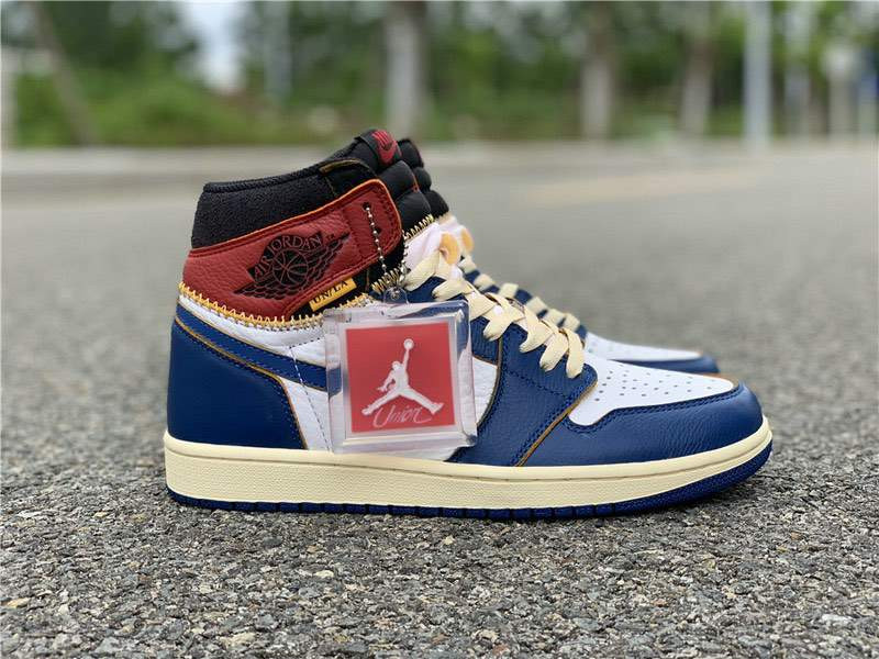 Кроссовки Air Jordan 1 Retro High OG NRG Blue x Union
