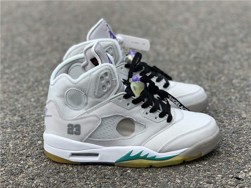 Кроссовки Air Jordan 5 AJ5 x Off White