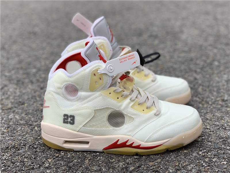 Кроссовки Air Jordan 5 x Off White