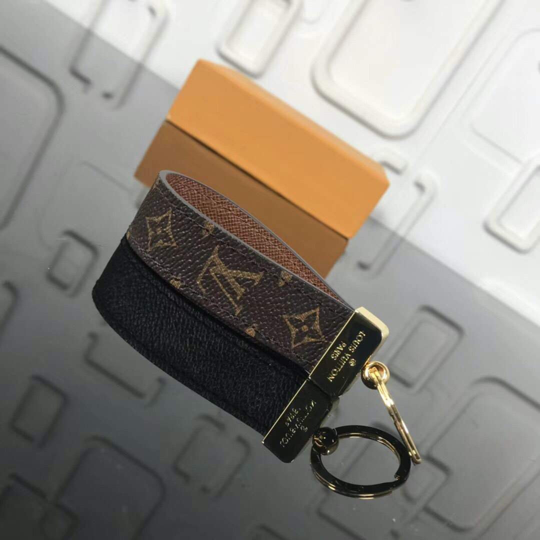 DRAGONNE Key Chain Light Brown