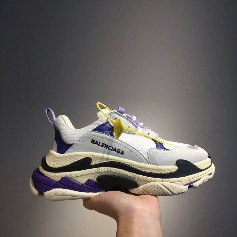 Кроссовки Triple-S White N Purple