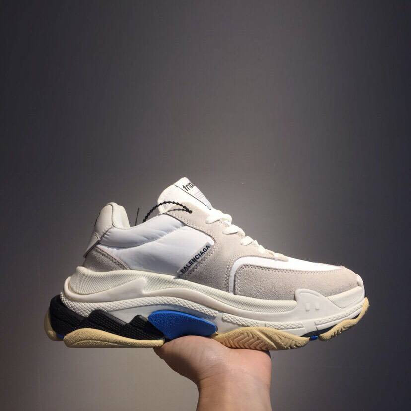 Кроссовки Triple-S 2.0 White N Blue