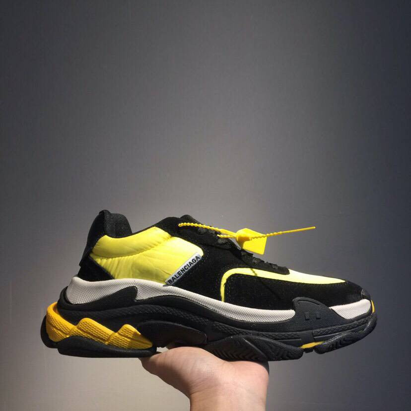 Кроссовки Triple-S 2.0 Yellow N Black