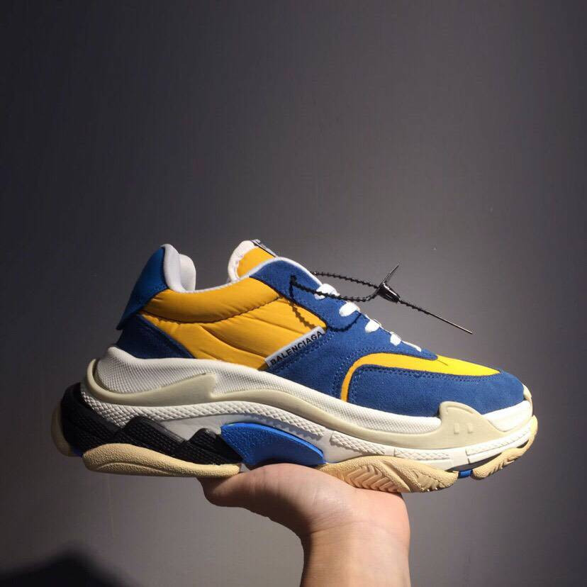 Кроссовки Triple-S 2.0 Yellow N Blue