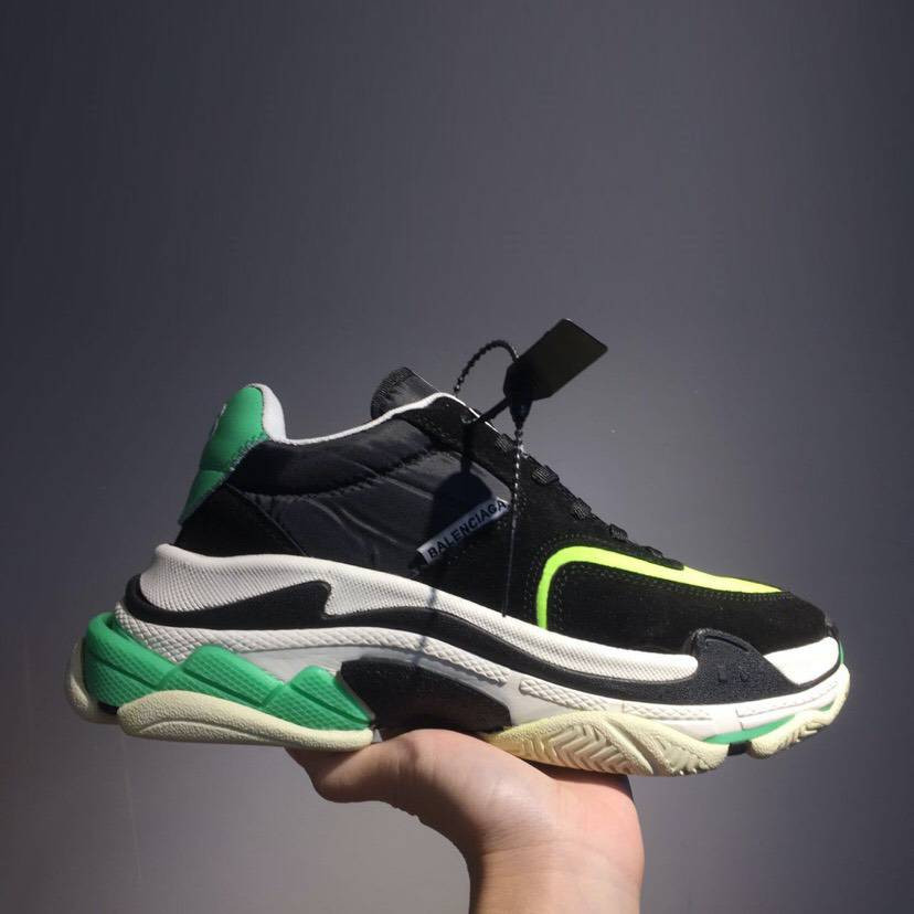 Кроссовки Triple-S 2.0 Black N Green