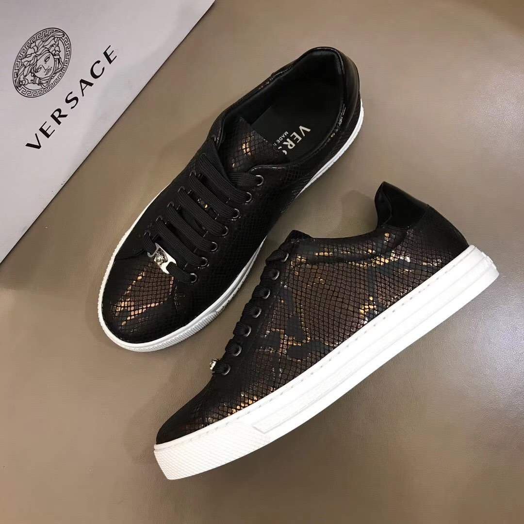 Кроссовки City Snake Scale Brown