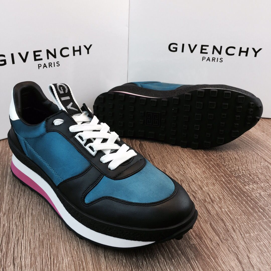 Мужские кроссовки Givenchy Bow Turquoise