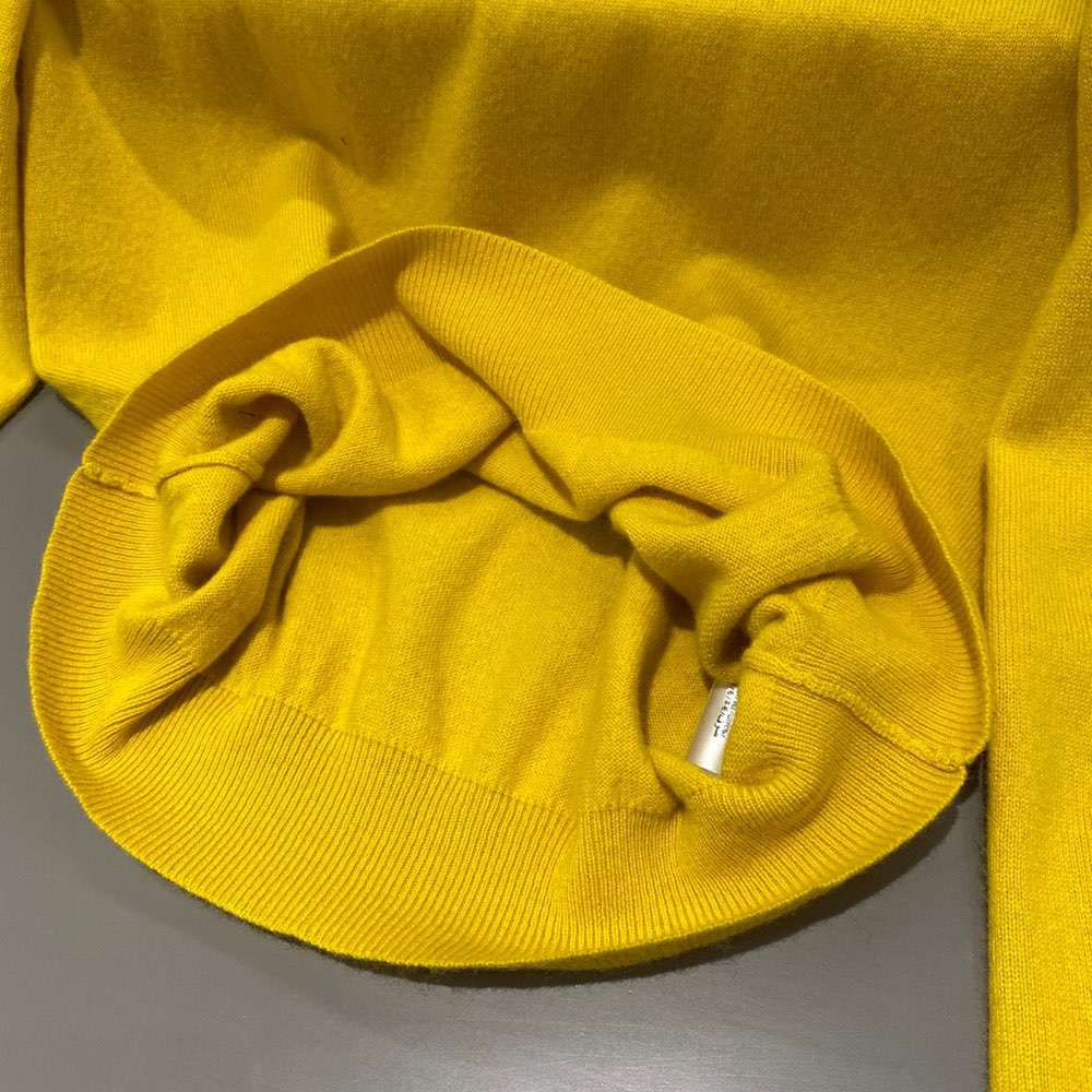 Cashmere Sweater Yellow