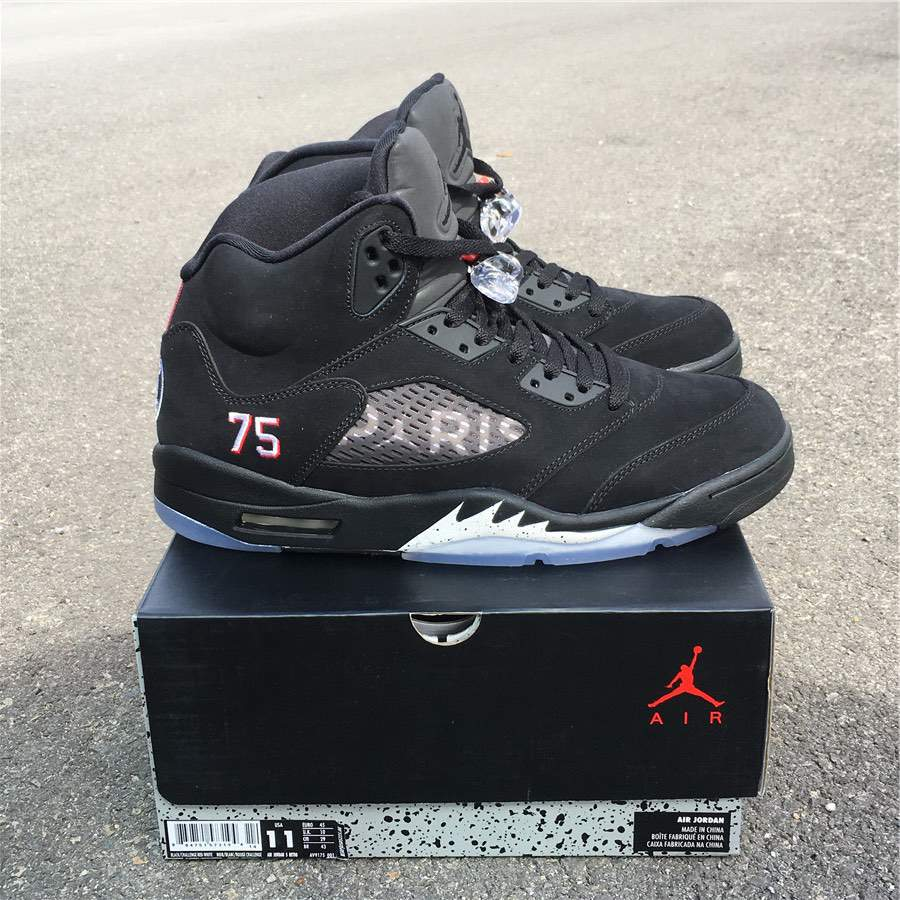 Мужские кроссовки Nike Air Jordan 5 Retro Paris Saint-Germain