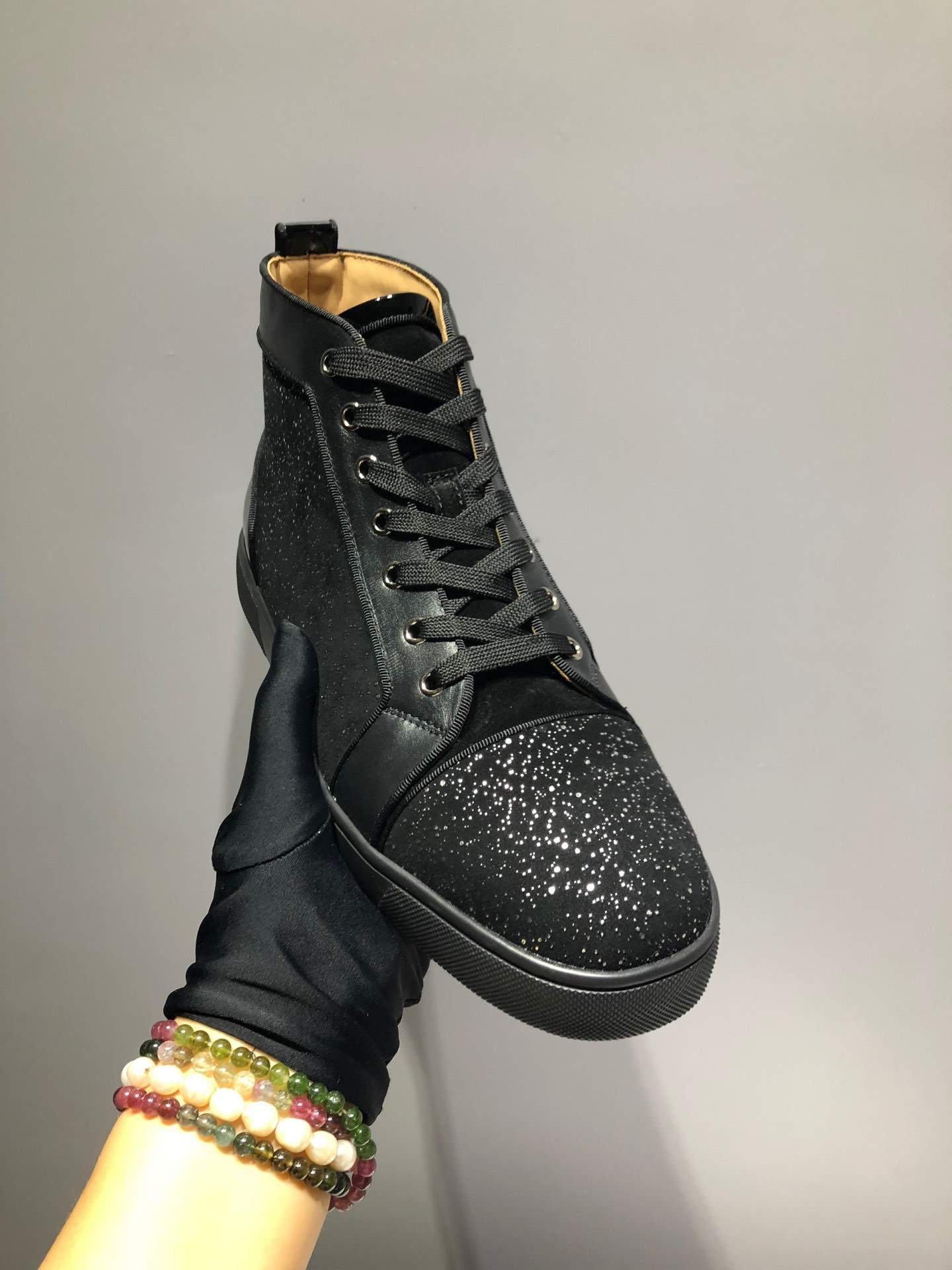 Мужские кроссовки Christian Louboutin  Darkness Night