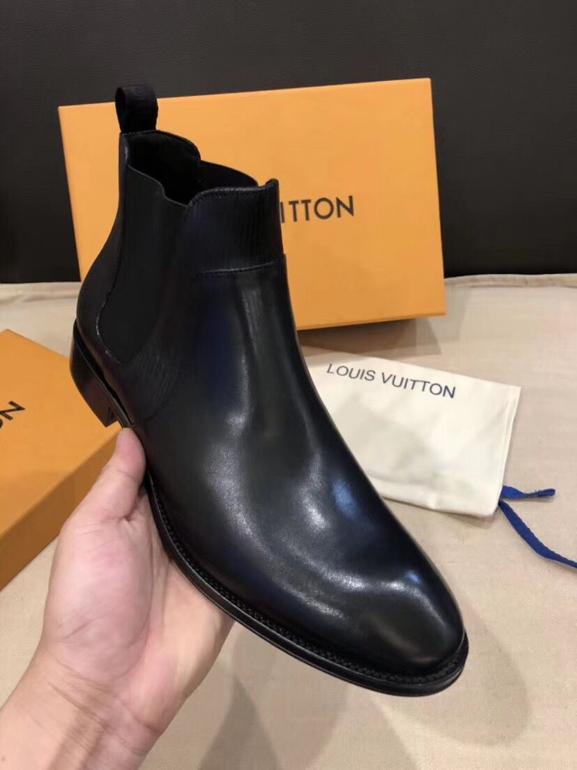 Мужские ботинки Louis Vuitton Versailles Black