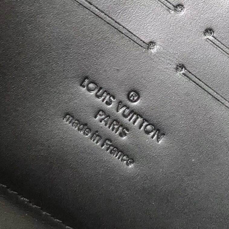 Мужской клатч Louis Vuitton Zippy Dark Infinity